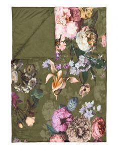 ESSENZA Fleur Moss Tagesdecke 240 x 100 cm