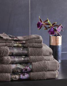 ESSENZA Fleur Towel Set Taupe