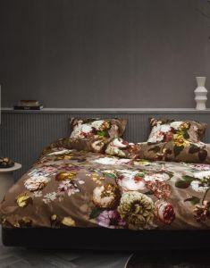ESSENZA Fleurel Cafe Noir Pillowcase 60 x 70