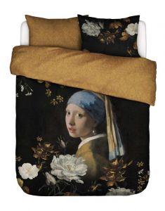 Essenza Floral Girl Black Duvet cover 240 x 220