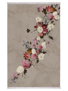 ESSENZA Flower Statement Stone Carpet 120 x 180