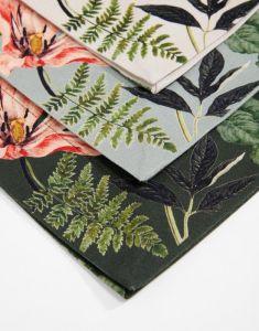 ESSENZA Gallery Stone green Tischset 35 x 50 cm