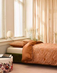 ESSENZA Gwenn Walnut Pillowcase 60 x 70