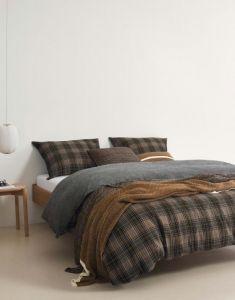 Marc O'Polo Halfoss Warm Pecan Pillowcase 60 x 70