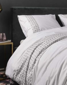 ESSENZA Hildes Weiß Bettwäsche 135 x 200 cm