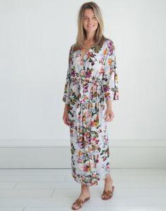 Essenza Ilona Fleur Grey Kimono M