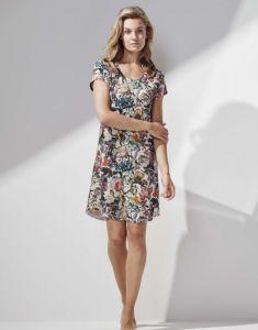ESSENZA Isa Famke Vanilla Nightdress short sleeve XS
