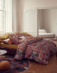 ESSENZA Isabelle Marsala Pillowcase 60 x 70