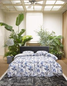 ESSENZA Jackie Iceblue Pillowcase 60 x 70