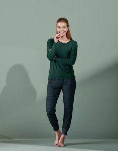 ESSENZA Jeanne Uni Thyme Top Long Sleeve M