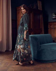ESSENZA Jula Eleanor Nightblue Kimono S