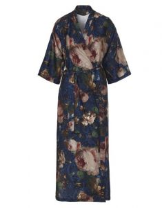 ESSENZA Jula Gallery of Roses Nightblue Kimono M