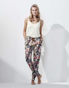 ESSENZA Jules Famke Vanilla Trousers Long M