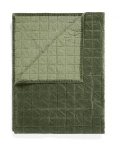 ESSENZA Julia Forest green Quilt 270 x 265