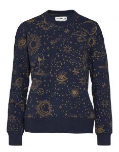 Covers & Co Kea That's the spirit Nightblue Sweater S
