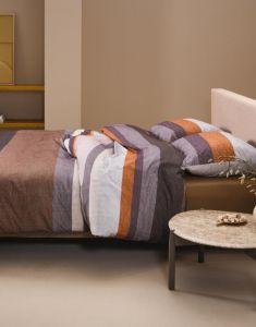 ESSENZA Kim Brown Pillowcase 60 x 70