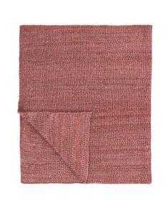 Marc O'Polo Kuara Pink Plaid 130 x 170 cm