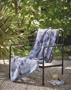 Marc O'Polo Kywa Blau Hammamtuch 100 x 180 cm
