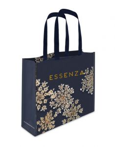 Essenza Lauren Indigo blue Shopper bag 45 x 12 x 35