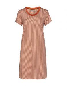 ESSENZA Loreen Striped Ginger Nightdress short sleeve XS