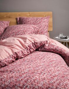 Marc O'Polo Lorsi Pink Duvet cover 240 x 220