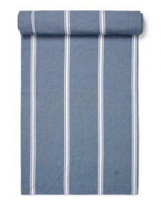Marc O'Polo Lovon Smoke Blue Tischläufer 40 x 150 cm