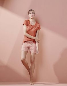 ESSENZA Luyza Uni Ginger Top Short Sleeve XS