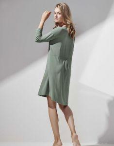 ESSENZA Lykke Uni Laurel Green Nightdress 3/4 sleeve M