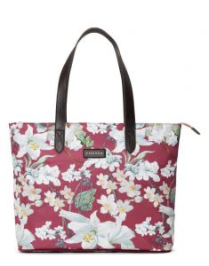 ESSENZA Lynn Rosalee Plum Shopper One Size