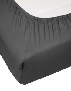 Marc O'Polo Marc O'Polo Jersey Anthracite Fitted sheet 90-100 x 200-220