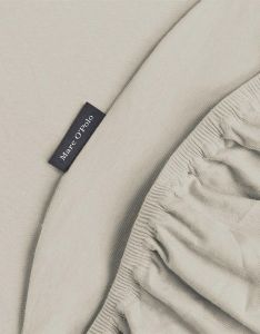 Marc O'Polo Marc O'Polo Jersey Beige Fitted sheet 90-100 x 200-220
