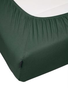 Marc O'Polo Marc O'Polo Jersey Forest green Fitted sheet 140-160 x 200-220