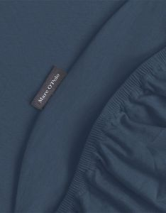 Marc O'Polo Marc O'Polo Jersey Navy Fitted sheet 90-100 x 200-220