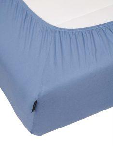 Marc O'Polo Marc O'Polo Jersey Smoke blue Fitted sheet 90-100 x 200-220