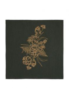 ESSENZA Masterpiece Dunkelgrün Serviette 45 x 45 cm