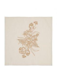 ESSENZA Masterpiece Sand Serviette 45 x 45 cm