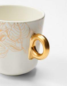 Essenza Masterpiece Off white Small mug 17 cl