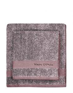 Marc O'Polo Melange Aubergine / lavender mist Guest towel 30 x 50