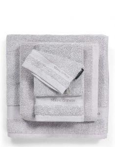 Marc O'Polo Melange Grau / Weiß Gästetuch 30 x 50 cm