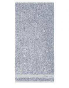 Marc O'Polo Melange Smoke Blue / Off White Gästetuch 30 x 50 cm