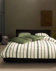 ESSENZA Meryl Pure olive Pillowcase 60 x 70