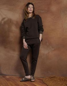 ESSENZA Mila Uni Darkest brown Trousers Long M