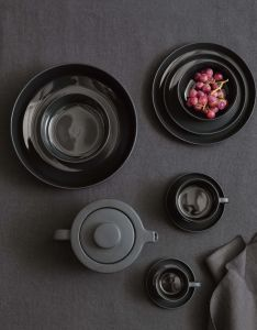 Marc O'Polo Moments Anthracite Coffee cup & saucer 20 cl