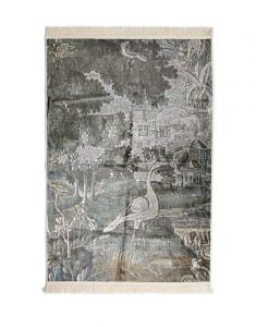 Essenza Nadia Sage green Carpet 180 x 240