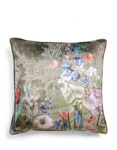 ESSENZA Nadia Sage green Cushion square 50 x 50