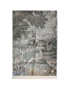 Essenza Nadia Sage green Wall carpet 120 x 180