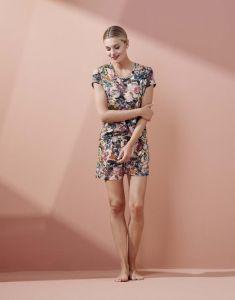 Essenza Natalie Famke Rose Trousers short L