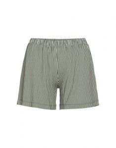 Essenza Natalie Striped Laurel Green Trousers short S