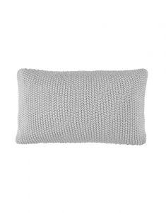 Marc O'Polo Nordic knit Silver Dekokissen 30 x 60 cm