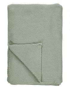 Marc O'Polo Nordic knit Garden Green Plaid 130 x 170